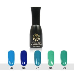 Wholesale hot sale byfunme gel polish colournail ml water natural resin nail art products manicure tools phototherapy led candy color