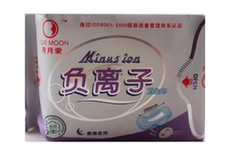 Wholesale Winalite Lovemoon Anion Sanitary towels Sanitary napkin for night use Sanitary pads packs