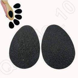 Zapatos autoadhesivas Anti-Slip Mat Alto talón único protector de goma Pad Cojín antideslizantes en la plantilla del antepié tacones altos de la etiqueta engomada 4000pcs CCA5040
