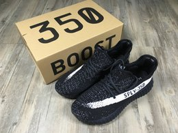 Wholesale With Box Adidas Originals Yeezy Boost V2 Running Shoes For Sale Men Women Original SPLY Yeezys Sports Shoes