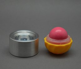 Wholesale aluminum Lipstick filling Model tools ball silicone LIP BALM Containers Lipstick Filling tool cool lip spherical Model DH182
