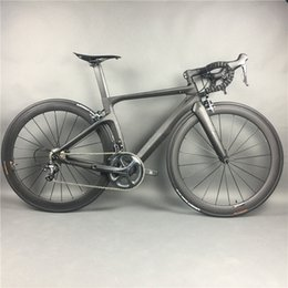 Complete Carbon Fiber Road Bike Racing Cycling,T800 Carbono Fibre Frameset,R36 Carbon Wheels,SHiMANO 3500 4700 5800 R8000 9100