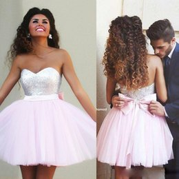 Discount Cute Pink Dresses For Homecoming | 2017 Cute Pink Dresses ...