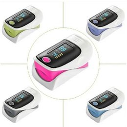 Wholesale Medical Fingertip Pulse Oximeter Oximeter SPO2 Oxygen Monitor for home hospital surgical anesthesiology pediatrics intensive care unit