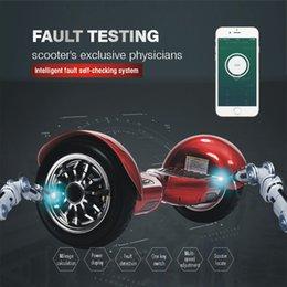 Спикер App управления Bluetooth электрический самокат 10 дюймов дрейфующих Скейтборд умный самобалансировани самокат 2 колесо ховерборда свет СИД