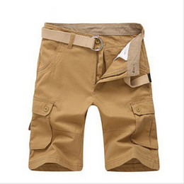 Discount Khaki Cargo Shorts For Men | 2017 Khaki Cargo Shorts For ...
