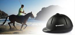 Free Size Haute Force Authentique Professionnel PVC + EPS Casque réglable cheval équitation équestre casque noir équitation cheval chapeaux chapeau