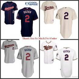 2015 new 2 brian dozier jersey minnesota twins throwback jerseys cool base mens
