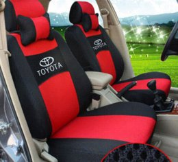 Buy Wholesale FORTUNE Nissan Logo Gem velvet Autos Car Seat Covers ...