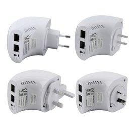 Vente en gros Router 802.11AC750Mbps Dual Band Concurrent Mini Wifi Répéteur Extender UK Plug