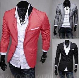 Wholesale spring cheap mens blazers black blazer jacket men casual suits for men slim fit suits gray