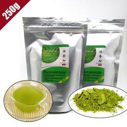 ShineTea 250г 100% Потери Природные органические Матча порошок зеленого чая для похудения Чай Матча DIY Вес еды Верхнее качество