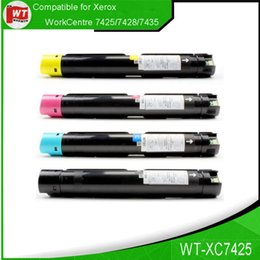4PK SET Xerox 7425, Cartouches de toner compatibles pour XeroxWorkCentre 7425/7428/7435, OEM: 006R01391-006R01394, BK / C / M / Y Pages 26,000