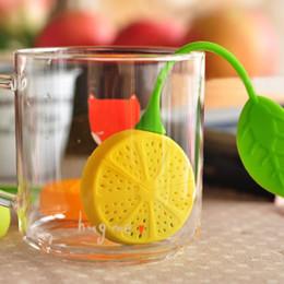 Tea Bag Reuseable Silicone Lemon Shape Infuser Holder Tea Coffee Filter Strainer Tea Ball Infusers Kitchen Accessories
