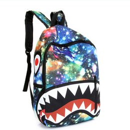 Discount Shark Teeth Backpack | 2017 Shark Teeth Backpack on Sale ...