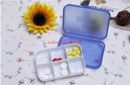Wholesale 1000pcs Pill cases Cells Mini Pill Storage Box Plastic Cases for Medicine Jewelry Organizers Medication pill box