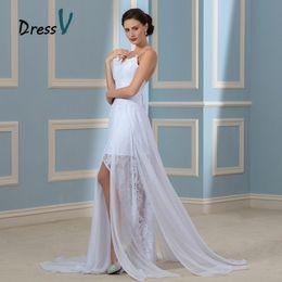 Fashionable White Dresses Sleeves Open Back Online | Fashionable ...
