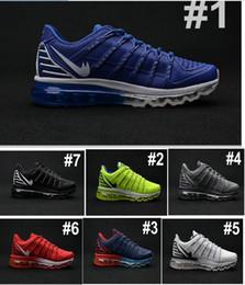 2016 shoes run air max Cheap Sale Maxes 2016 II Nanometer KPU Men's Running Shoes Airs Popular Casual Outdoor Sports Sneakers Size 40-46 Free Shipping cheap shoes run air max