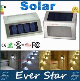 30pcs Mini Led Lumière solaire extérieure solaire Lampes de jardin Lampe étanche à froid / blanc chaud Stair lumières intérieures LED Light Sensor
