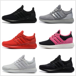 Wholesale Cheap Adidas Originals Yeezy Ultra Boost Running Shoes Men Women New High Quality Sports Shoes For Sale Free Drop Shipping
