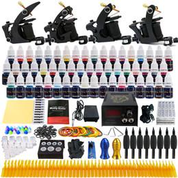 Wholesale solong tattoo Sell From Xiulong china Pro Machine Guns Tattoo Kit Inks Power Supply Needle Grips TK457
