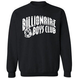 Wholesale BILLIONAIRE BOYS CLUB BBC Long sleeve Sweatshirts Men Hip Hop Cotton Hoodies O Neck billionaire Man Tops Hoodies Sweatshirts