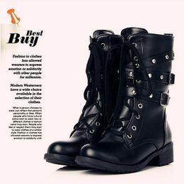 Black Patent Combat Boots Online | Black Patent Leather Combat ...