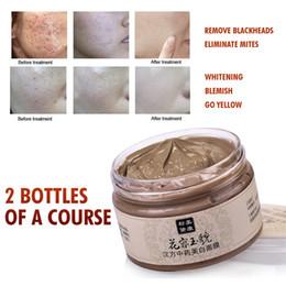 Wholesale MEIKING Chinese herbal Skin Care Acne Scars Remove Face Mask Cream g Blackhead Mite Treatment Facial Masks Whitening Moisturizing