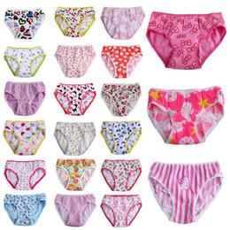 Wholesale New Arrivals Children s Girl s Briefs Kids Underwear Lingerie Floral Pattern Thin Cotton Blends NX246