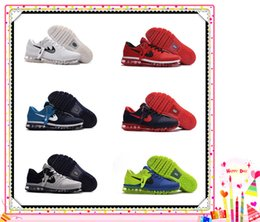 Discount shoes run air max New max 2017 Running Shoes Flyline Air Cushion Men's Sneakers Men 100% Original Cheap Walking Boots Sport Shoes Size US 7-13