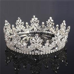 تيجان ملكية  امبراطورية فاخرة Shiny-hair-accessories-for-women-wedding