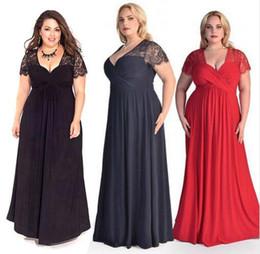 Wholesale XXL XL Summer Female Clothing Elegant Evening Party Long Boho vestidos de festa Maxi Lace Dress Plus Size Women Dress