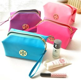 Wholesale 2016 latest hot models a bright and beautiful candy color cosmetic bag water resistant strong capacity easy to carry worth having