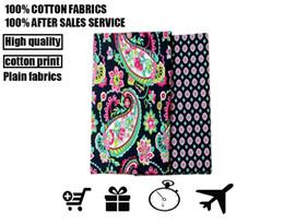 Wholesale fabric vb Cotton garden PND tail on big flower fabric clothing pillow handbag bed special purpose fabrics high mass density