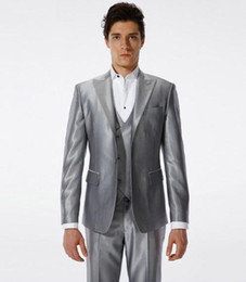 Silver Suits For Mens Online | Mens Silver Suits For Weddings for Sale