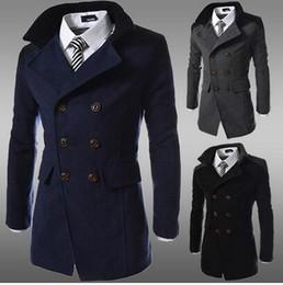 Discount Woolen Winter Coats Men   2017 Woolen Winter Men S Coats ...
