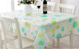 wipe clean pvc vinyl tablecloth dining kitchen table cover protector 130x180cm - Kitchen Table Covers Vinyl