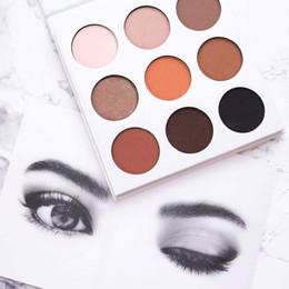 Kylie Eyeshadow cosméticos Jenner Kyshadow presionó sombra de ojos en polvo Kit de paleta de bronce Preorder Cosmetic 1pcs Epacket
