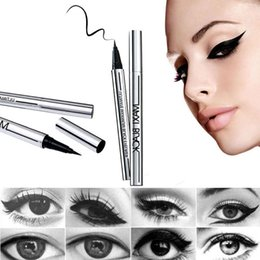 Wholesale New Fashion Women s Girl s Beauty Makeup Eyeliner Eye Liner Waterproof Extreme Black Liquid Pen Easy to Wear Long lasting T248