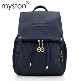 Discount deep shop 2016 hot designer leather backpack brand-name quality carry-on shopping bags of candy color bag Women fashion bags free shipping