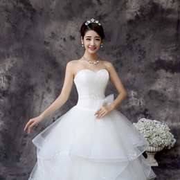 Wholesale White Long Cathedral Bridal Wedding Dress Gorgeous Wedding Dresses Off Shoulder Backless Flowers Embroidery Cheap Sheer Tulle Ball Gown