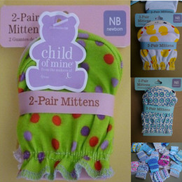 Wholesale Abaodo Fashion Baby Mittens Newborn Infants Gloves For Your Baby High Quality Cotton New Coming Guantes