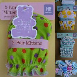 Abaodo Mode Bébé Gants Nouveau-nés Gants pour votre bébé Haute Qualité 100% Coton Nouveau Guantes