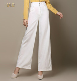 White Linen Wide Leg Pants Online | White Linen Wide Leg Pants for ...