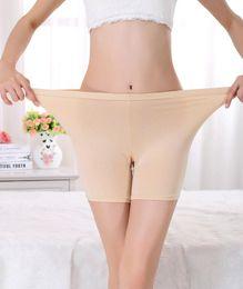 Wholesale Al por mayor cómodo más tamaño de las señoras de bambú boxeador pantalones cortos de verano ligero pantalones de seguridad Boyshort ropa interior para las mujeres pulgadas