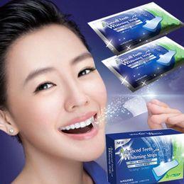 Wholesale Teeth Whitening Strips Degree New Advanced Teeth Whitening White Strips Bleaching Professional Dental Teeth Whitening Kit invalid refund