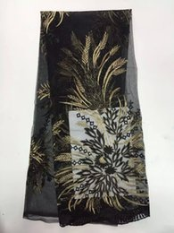 Wholesale DP9KTop Selling Embroidery Flower Design African Swiss Voile Lace Fabric High Quality Organza Net Lace Material Faddish French