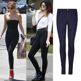 Discount Sexy Girls Black Skinny Jeans | 2017 Sexy Girls Black ...