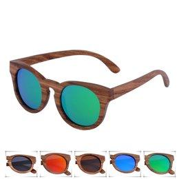 free shipping best selling fashion eco friendly oem custom wood sunglasses round frame zebra wood eyeglasses oculos de sol women sun glasses