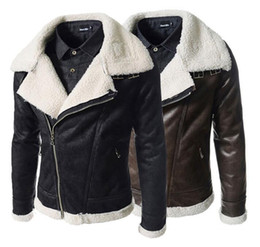 Discount Leather Berber Fleece Jacket   2017 Leather Berber Fleece